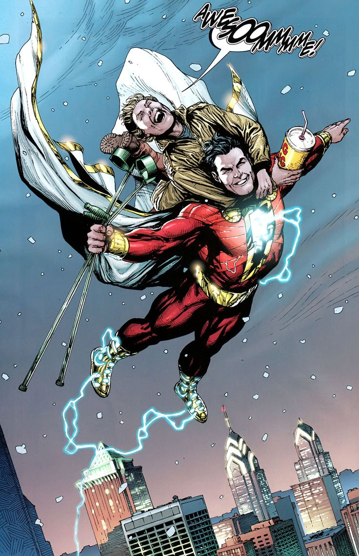 Shazam Vs Black Adam New 52