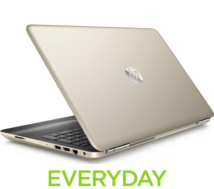 "HP Pavilion 15-au078sa 15.6"" Laptop - Gold"