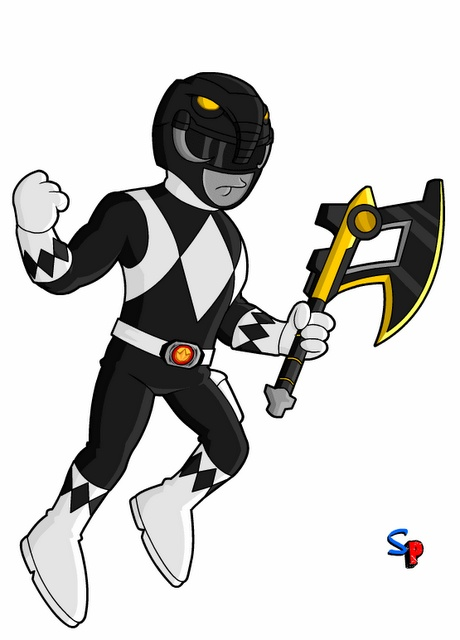 Mighty Morphin Power Rangers; Black Ranger