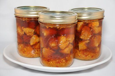 Canned Marsala Chicken, Lemon Chicken, Mexican Chicken, Orange Chicken, and more. Very interesting, might have to try.