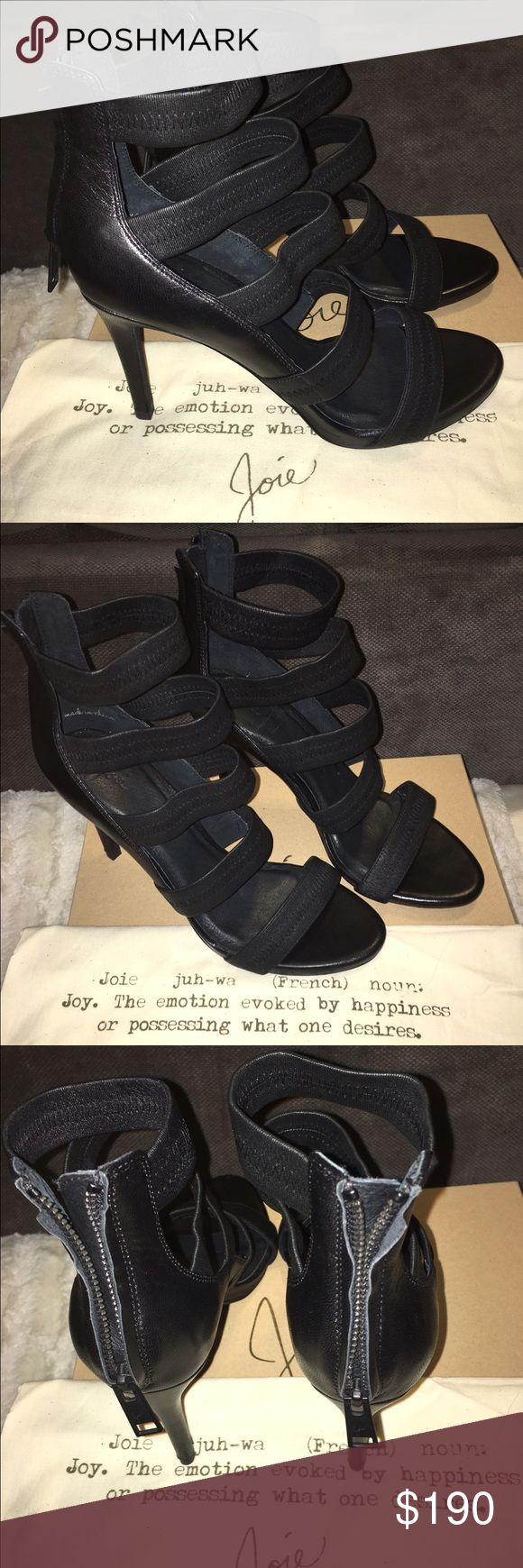 "Joie open toed platform Sandals Jenna high heels BRAND NEW in original box with shoe bag size 9.5 paid $375 4"" heel Joie Shoes Sandals"