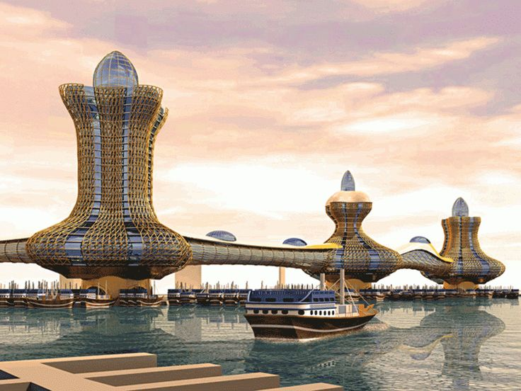 A New City in the making with shopping centre, entertainment, hotels and residential towers coming up soon in Dubai Creek.