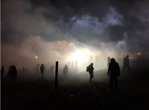 """300 Injured At Standing Rock: """"He just smiled and shot both my kneecaps"""""""