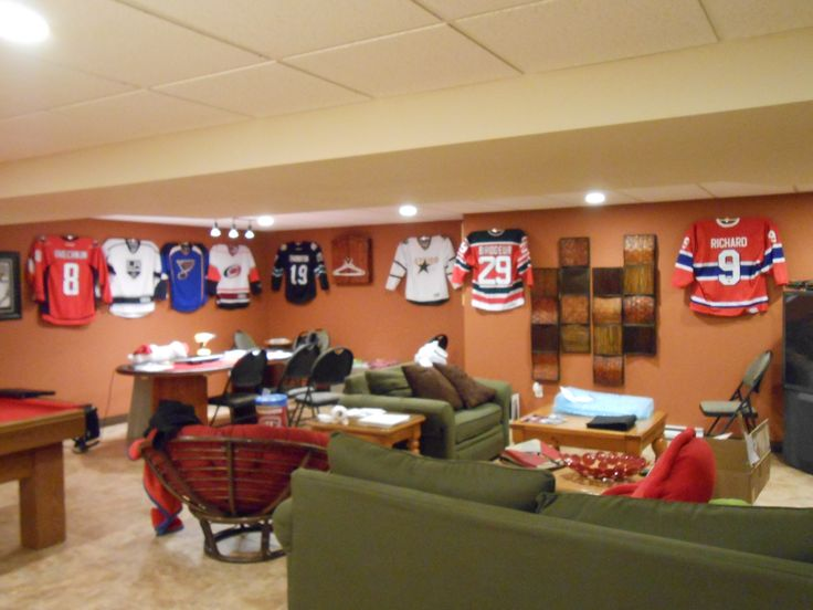 Man Cave Nj : Ultra mount jersey display hangers help create the