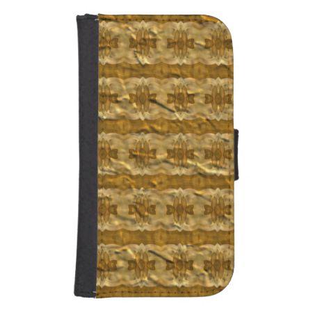Trendy paper pattern phone wallet