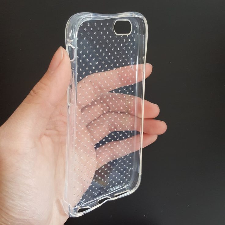 Apple iPhone 6G Plus/ 6S Plus  - Polka-dots Silicone Phone Case - 4.45$