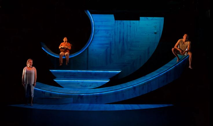 No More Sad Things. Sideshow Theater Company. Scenic design by William Boles.