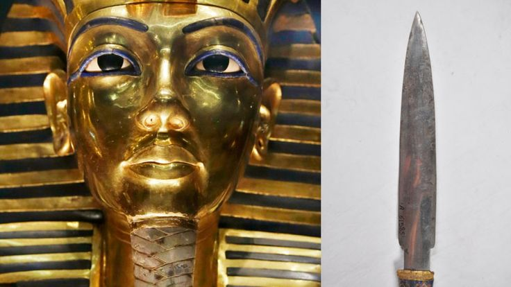A famous dagger found in the wrapping of Egyptian King Tutankhamun's mummy was made with iron from a meteorite, a new study confirms.