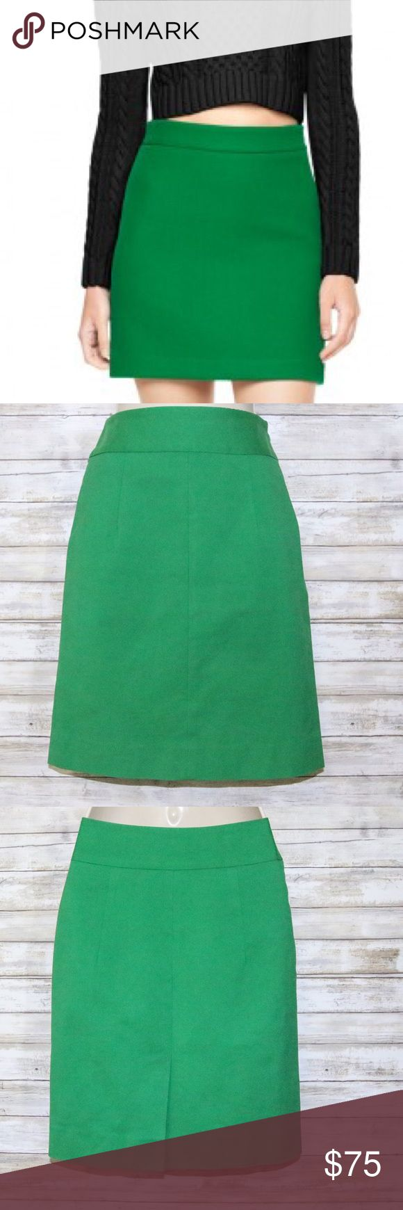 MILLY kelly green pencil skirt sz 2 MILLY kelly green pencil skirt  sz 2  Gently Worn Milly Skirts