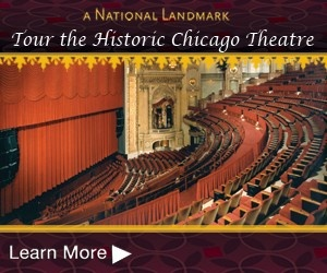 FFC BeneFITs Offer: FREE guided tour of the Chicago Theatre. For pre-sale or discount information, check out our membership page at www.thechicagotheatre.com.