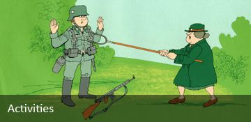With over one million members during WWII the WVS women in green gave service beyond self to defend the civilian population of Great Britain in its darkest hour.