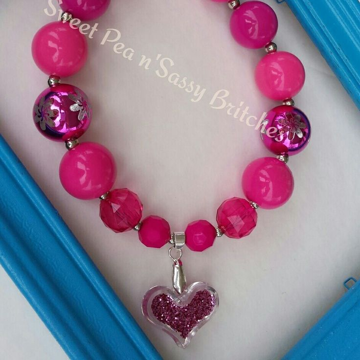 Valentine..Chunky Necklace