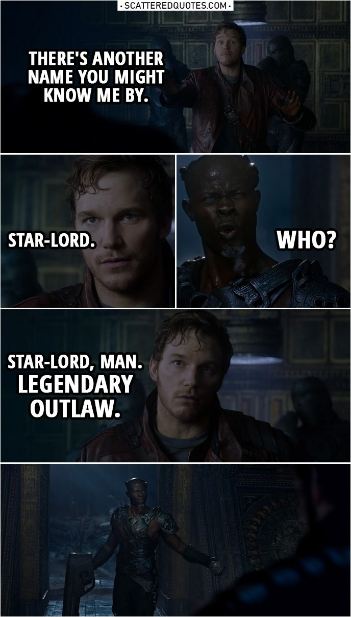 40 Best Guardians Of The Galaxy 2014 Quotes You Re Welcome Scattered Quotes Star Lord Guardians Of The Galaxy Marvel Quotes