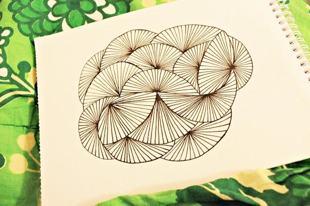 SØHESTEN: DIY - Tegn et mønster #2