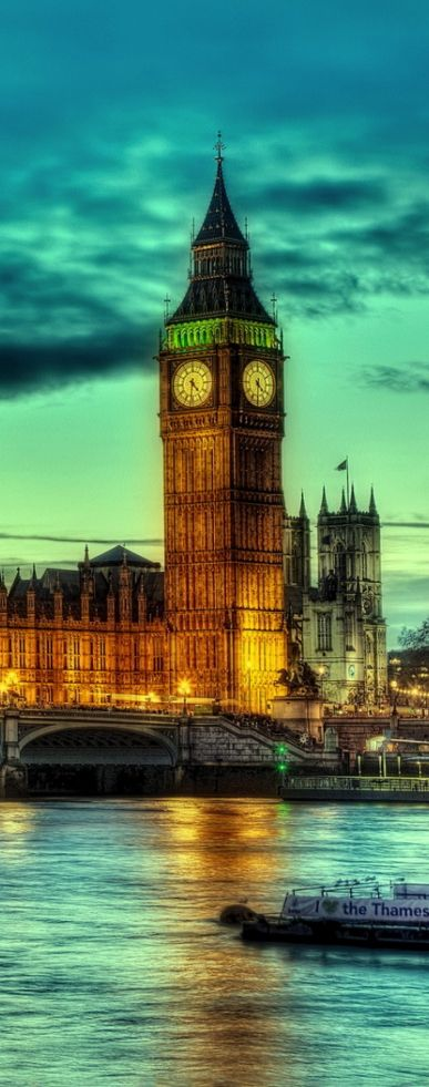 Big Ben & Westminster Abbey, London, UK