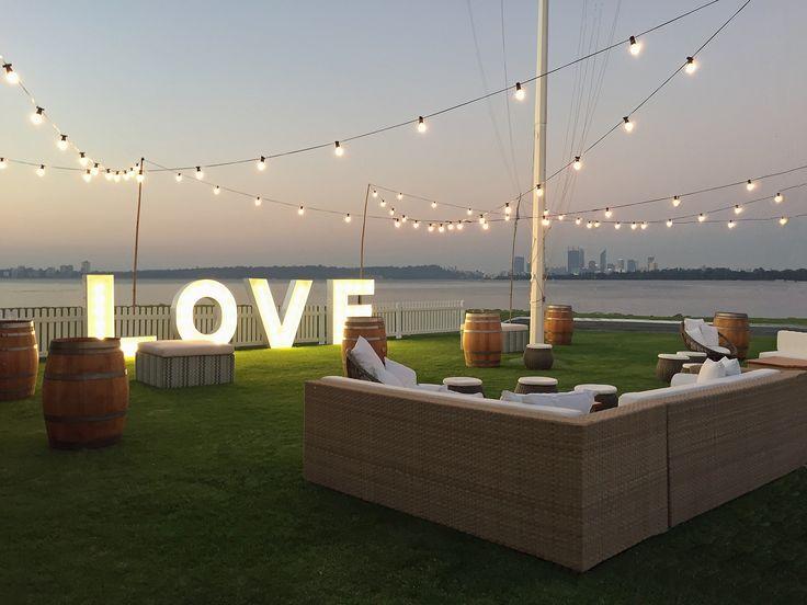Outdoor Wedding Venues - South of Perth Yacht Club www.sopyc.com.au