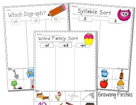 Growing Firsties: Common Core Crunch - September & A Freebie