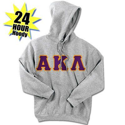 Alpha Kappa Lambda 24-Hour Sweatshirt - G185 or S700 - TWILL