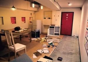 This photo was taken of a Real Escape room in Japan. SF's is different. (http://realescapegame.com/rersf1/)