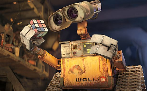 WALL•E (2008) G, 98 mins., directed by Andrew Stanton, starring the voices of Ben Burtt, Elissa Knight, Jeff Garlin