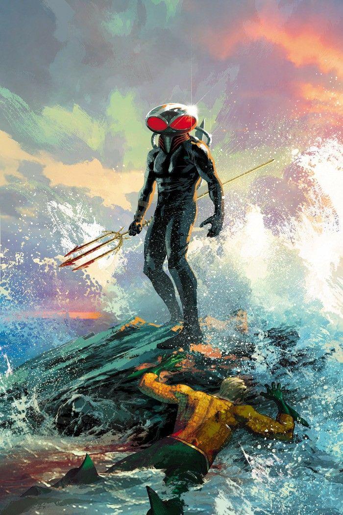 Black Manta and Aquaman