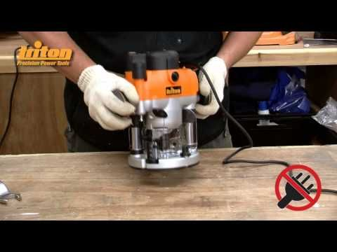 http://www.toolselect.com/product/detail/Triton-TRA001 ToolSELECT.com put the 15-amp Triton Plunge Router with Soft Start into the hands of Chad Klompstra of...