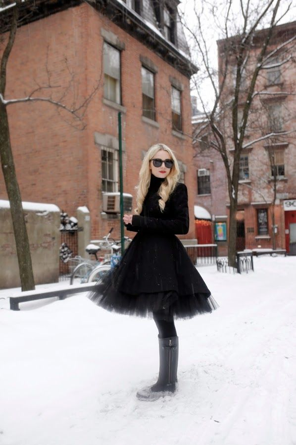 tulle skirt with black top                                                                                                                                                                                 More