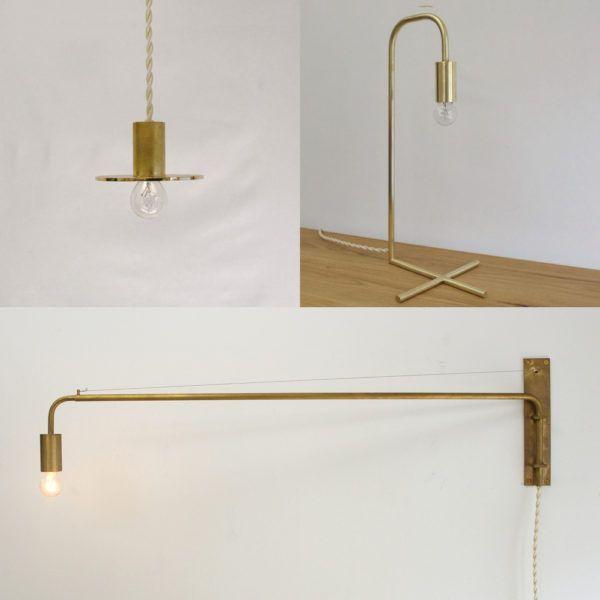 千sen シンプル ミニマム おしゃれな真鍮の照明 | 茅場町 インテリアショップ | ROUND ROBIN BLOG