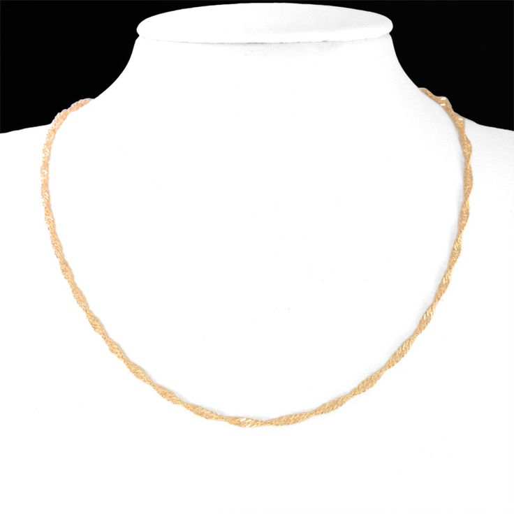 Cute Kids Necklace Gold Chain Collar Baby Jewelry Collier Bebe Collares Bebek Kolye Colar Collana Bambino Colier Kettingen 6BN02 #Affiliate