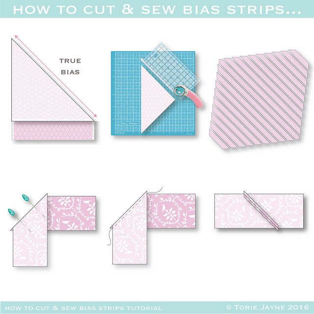 16 Best Images About Making And Sewing Bias Binding On
