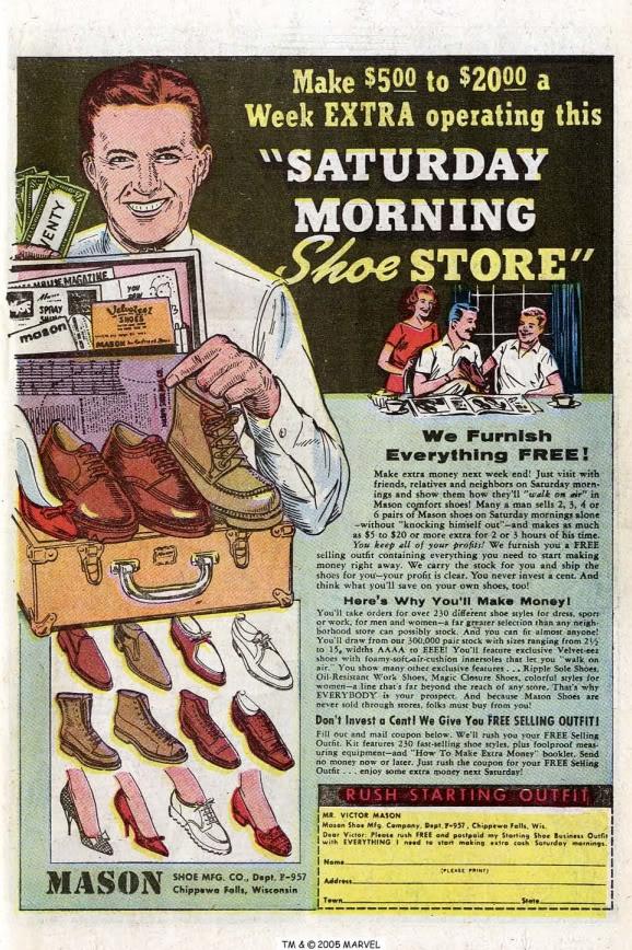 Old Comic Book Ads