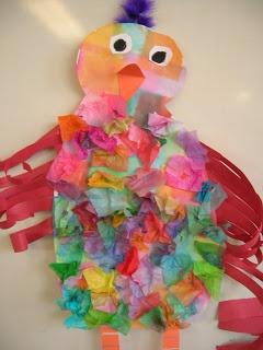 The Elementary Art Room!: First Grade Art Spring Chickens.