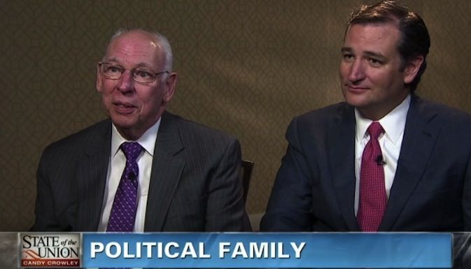 """Ted Cruz's Father Suggests Placing Atheists in 'Camps'. Can you say """"nutjob""""? So much for being loving toward your fellow man, Mr. """"I'm a Christian"""" Cruz."""