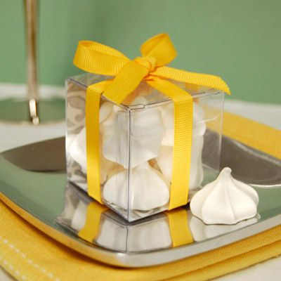 Souvenirs de Baby Shower con cajas rellenas de merengue | Manualidades para Baby Shower
