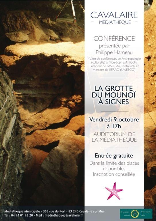 Conférence « La Grotte du Mounoï à Signes », Cavalaire-sur-Mer (83240), Provence-Alpes-Côte d'Azur