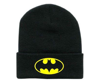 Batman superhero beanie hats