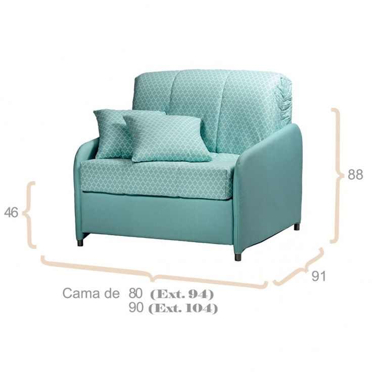 M s de 25 ideas incre bles sobre sofa cama individual en for Sillon cama 1 plaza nuevo