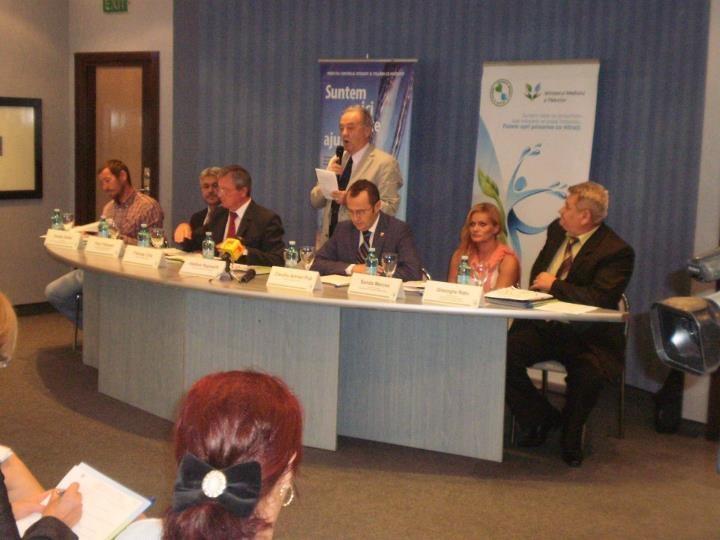 """Astăzi s-a lansat Campania de sensibilizare şi conştientizare a Proiectului """"Controlul Integrat al Poluarii cu Nutrienţi"""" în Bazinul Hidrografic Crişuri"""