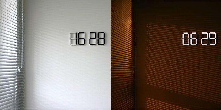 Kibardindesign - Black & White Clock
