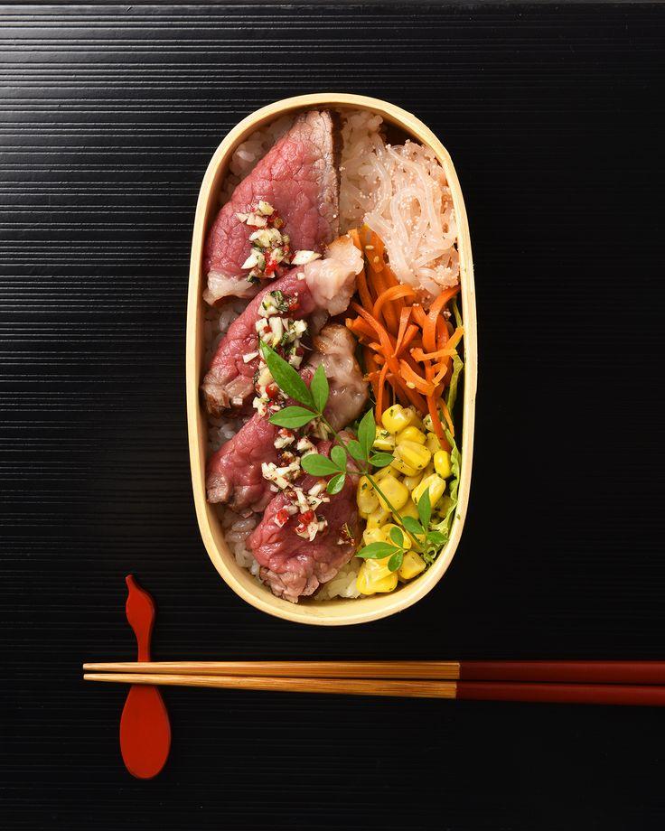 ハーブソルトビーフ弁当 / Rosemary & Garlic Roast Beef お弁当を作ったら #edit_jp で投稿してね!