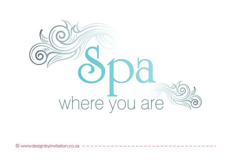 Spa Logo Design © www.designbyinvitation.co.za