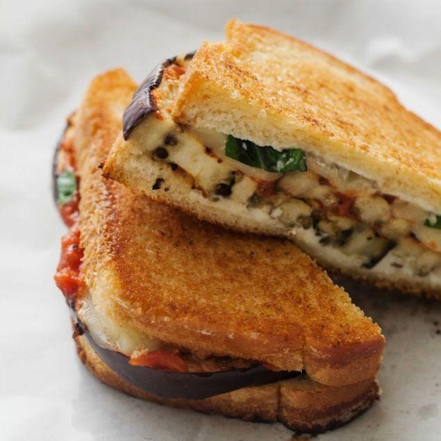 http://honestcooking.com/grilled-eggplant-parmesan-sandwich/