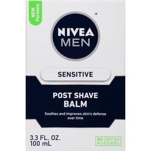 Nivea Men Sensitive Post Shave Balm, 3.3 OZ