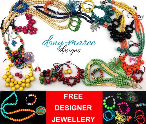 WIN your choice of handcrafted designer jewellery to the value of $50 (delivered FREE worldwide). CLICK HERE to enter: http://dony-maree.com.au/pages/competitions