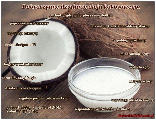 olej kokosowy_dzialanie