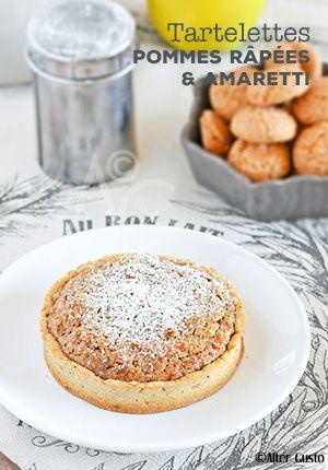 Une tarte originale, simple et qui doit être excellente !    #pommes #tarte
