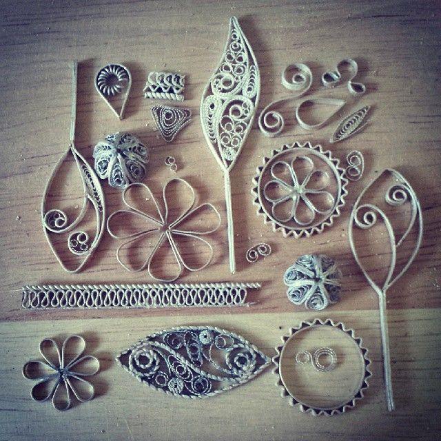 Instagram media by silverfiligree - Puzzle #silverfiligree #silver #filigree #handmade #puzzle #Macedonia #jewellery #jewelry