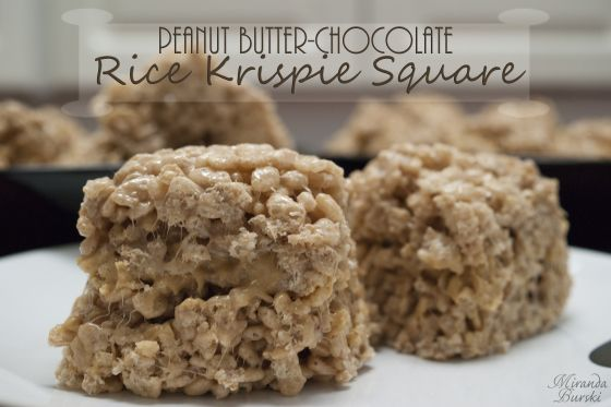 Peanut Butter-Chocolate Rice Krispie Square: This mostly follows the classic Rice Krispie Square formula, with the addition of some cocoa powder and a peanut-butter spread.
