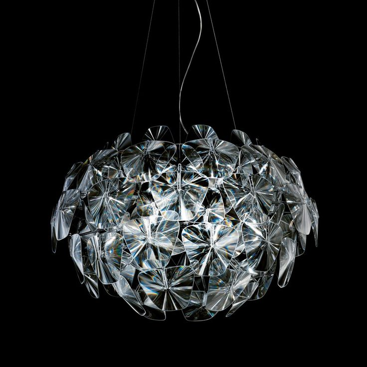 Hope Chandelier. This stunning fixture has earned the Red Dot Design award, Good Design award, the Compasso d'Oro, and the Premio dei Premi in 2011. Hope was designed by Francisco Gomez Paz and Paolo Rizzatto in 2009.