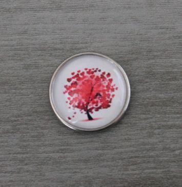 Drukker hartjesboom